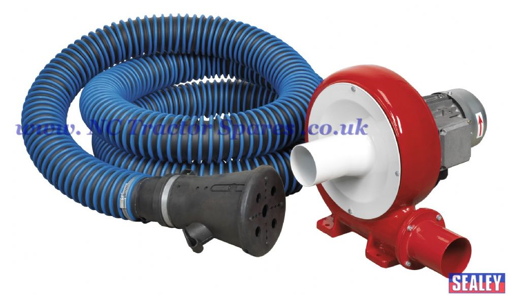 Exhaust Fume Extraction System 230V - 370W - Single Duct